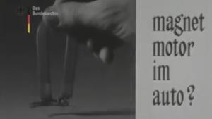 Magnetmotor Friedrich Lüling